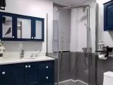 干湿分离的小户型卫生间,这样做隔断才更显宽敞!