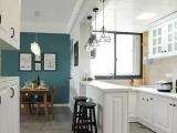 北欧风65平二居小户型,厨房小吧台太有情调了!