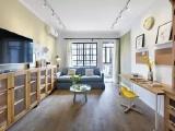 100㎡现代北欧风,沙发靠窗放,明亮宽敞又大方!