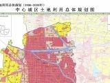 宿州市土地利用总体规划(2006-2020)调整方案及中心城区土地利用规划图