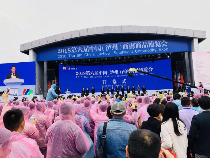 2018第六屆中國(瀘州)西南商品博覽會開幕