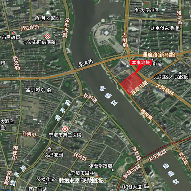 巅峰对决,20750元/平方米,万科拿下江北核心区地块