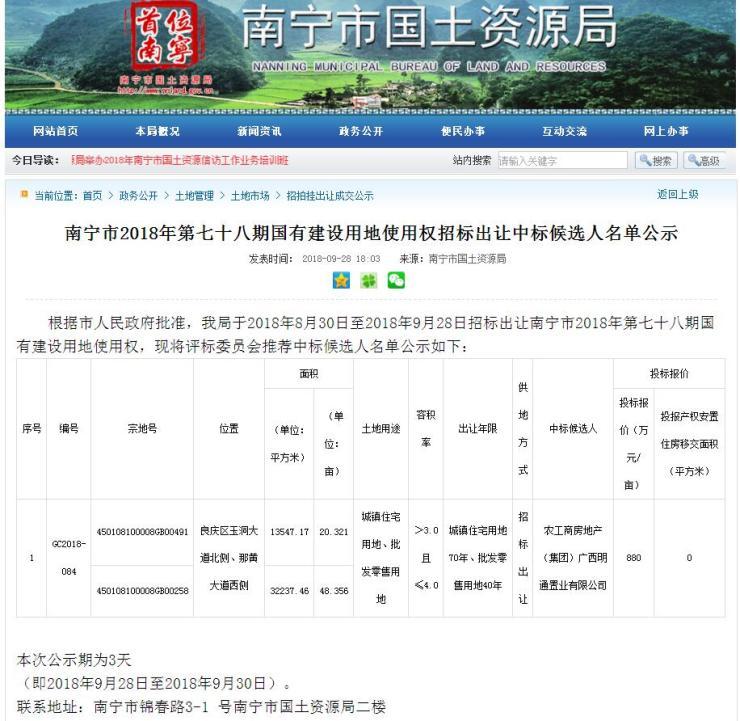 9月收官土拍: 威宁朝阳商圈建历史街区 泰康人寿造医养社区