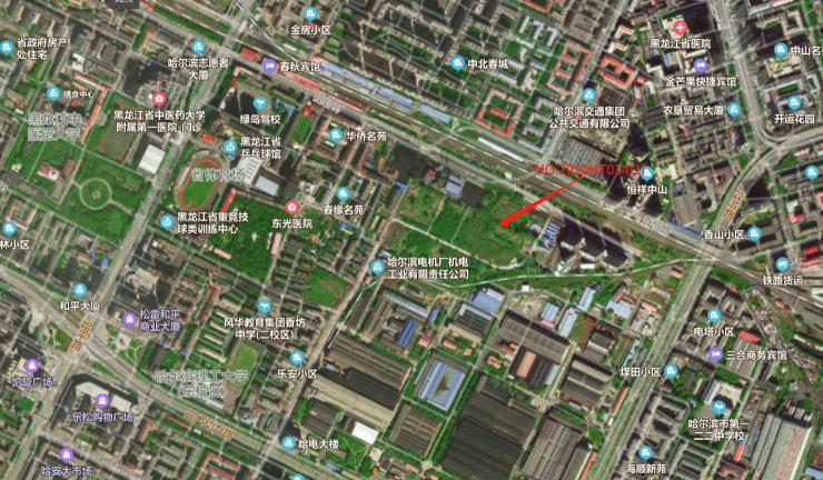 二环内新盘!乐园街地块16.96亿成交 楼面价6574元/㎡哈尔滨插图(1)