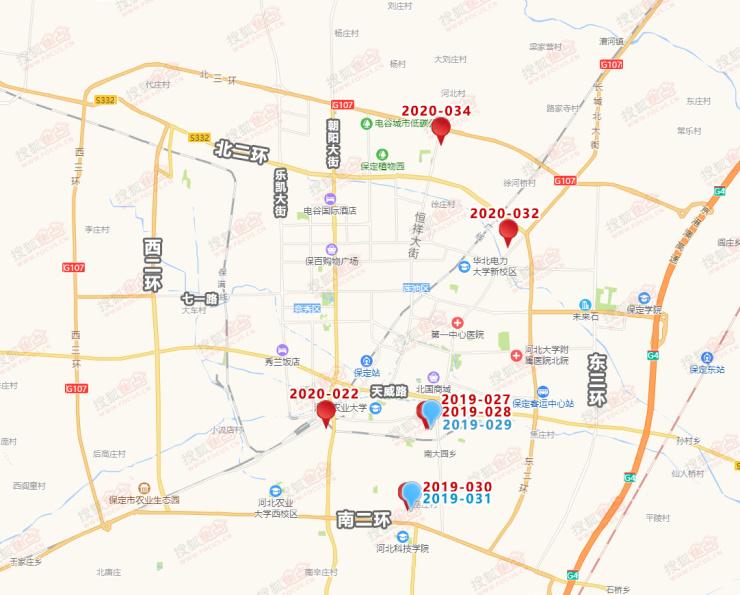 """土拍丨6.24保定8宗地块成功出让 均为房地产""""解遗""""项目"""