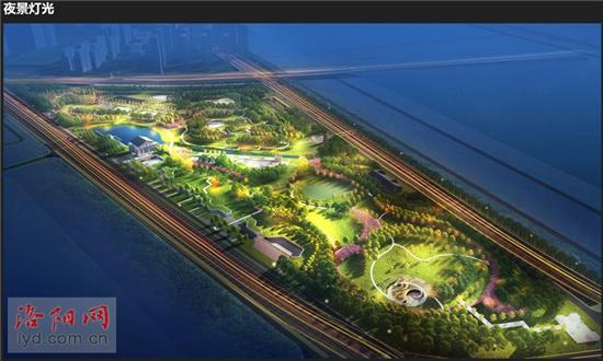 洛河南岸新添公园文博体育公园 发布规划设计方案