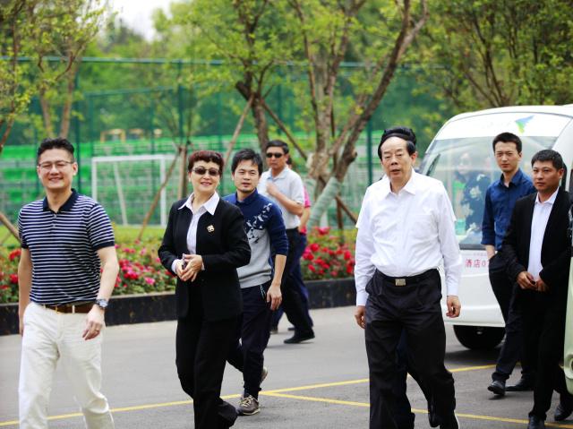 国家体育总局副局长赵勇一行调研昆明嘉丽泽高原体育运动小镇