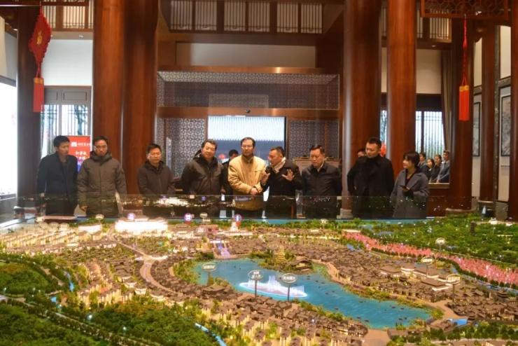 市委常委、宣传部长高山一行调研新华联铜官窑文旅项目