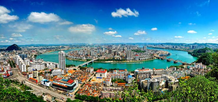 广西省最有钱的4座城市,南宁第4,北海第2,第一是哪里?