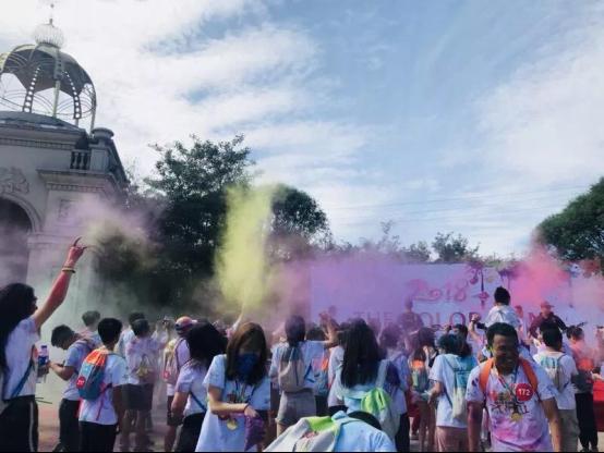 合生青年Color Run:嗨翻京津新城的彩跑大趴成功落幕