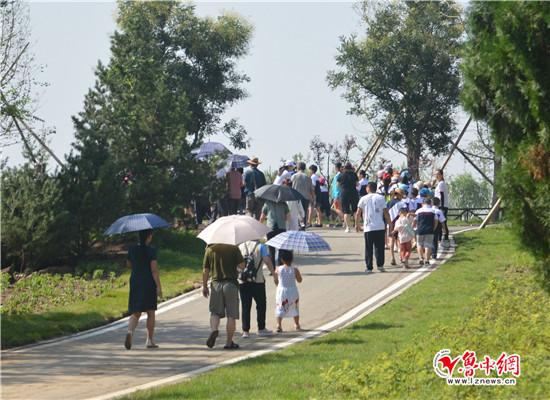 淄博高新区花山公园8月1日正式开园迎客