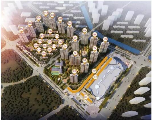 最后机会!现象级楼盘▏占据市值高地的淮安吾悦广场 不容错过