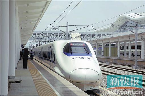 时速200公里!江湛铁路进试运行收尾阶段 广州到湛江3小时