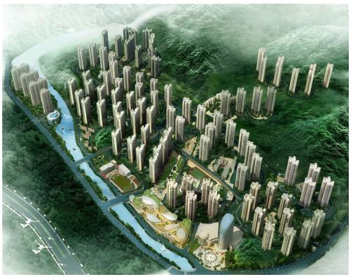 楼市相对论∣同样都是高绿化 乐湾国际城和中铁国际城你为谁疯狂