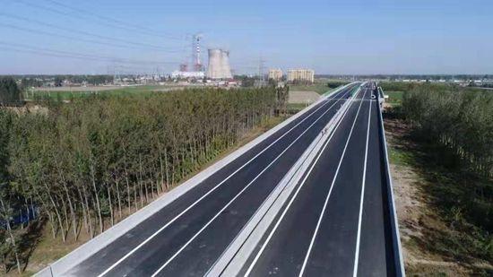 济宁西二环路段路面工程提前交工,计划月底通车