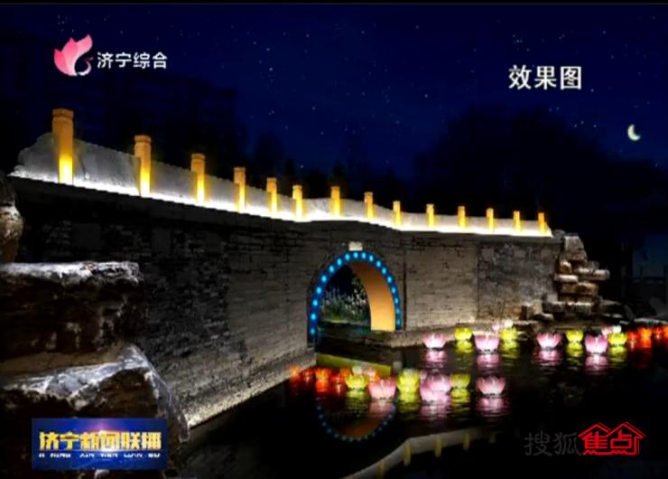 还有3天济宁街头夜景将大变样!五彩斑斓的彩灯点亮璀璨夜景