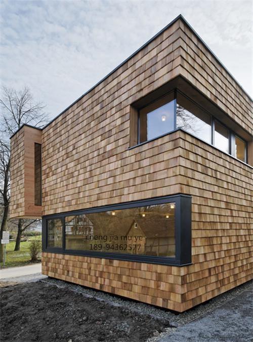 木瓦屋顶外墙装饰效果没想到竟然这么好!