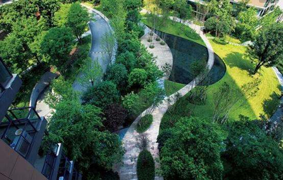 新文安孔雀城:东方院落里的瞰景观邸