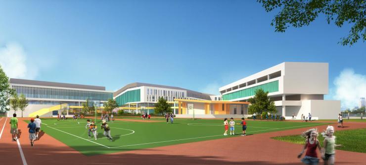 温州市实验小学桃花岛校区开工建设