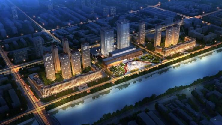 城市运营商中国金茂的天津造城战略图