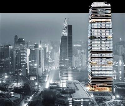 兰州460米高新地标 迎门滩将打造中央商务区 建31座超高层