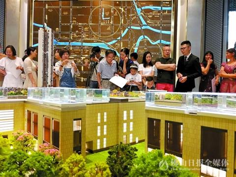 4月40楼盘推出6000套房 限购区域热点二手楼价格整体