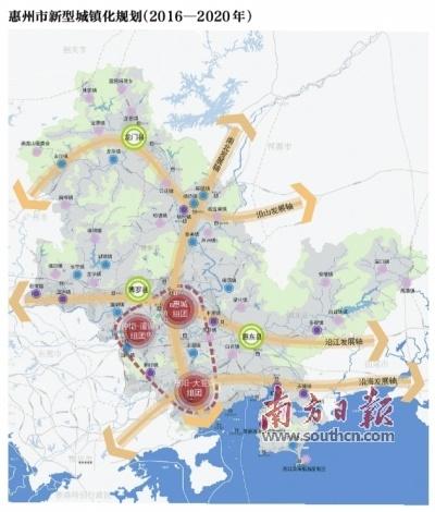 惠州3年后常住人口城镇化率达75%