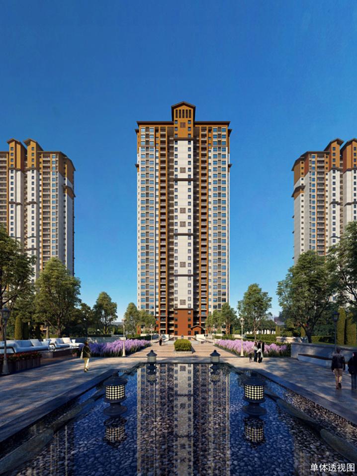 清江新城黃金時代廣場一期多棟住宅樓預售證獲批