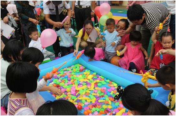 世茂亲子趣味运动会6.3欢乐开启  500名业主及孩子参与体