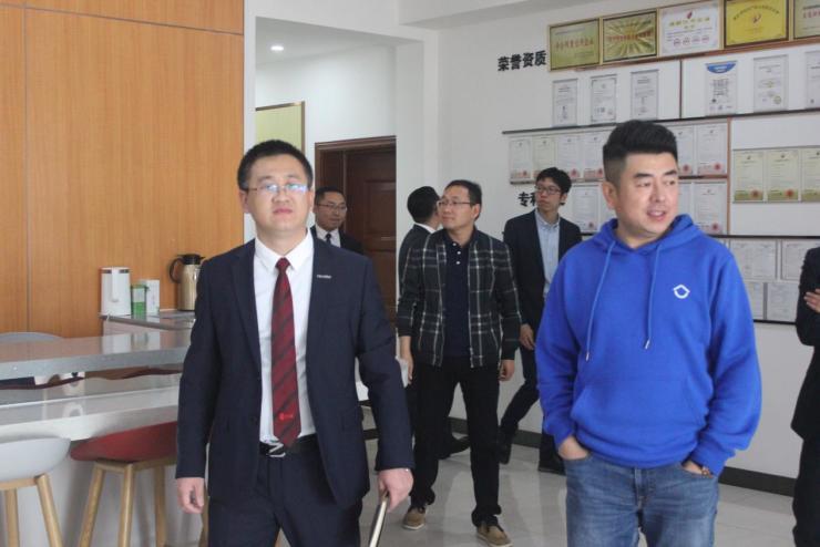 贝壳天津站总经理李峰岩先生率贝壳管理团队莅临仁道考察交流
