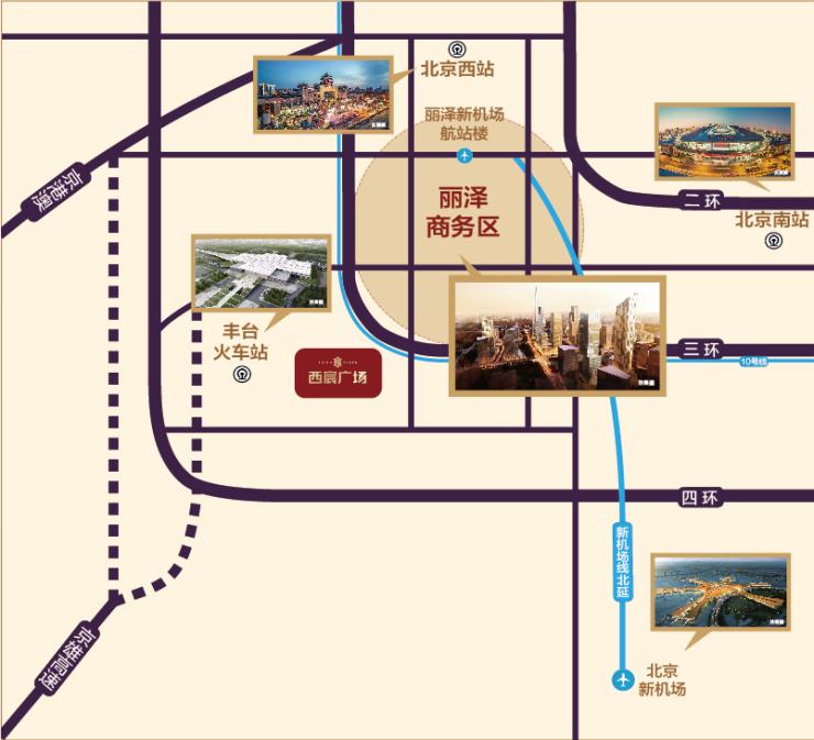北京城南计划提速,龙湖西宸广场坐享城南红利