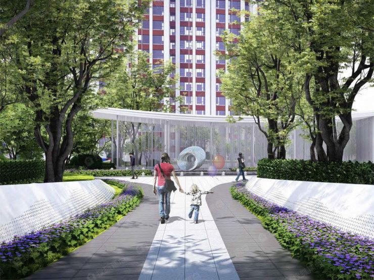大名城二期14#地块平面图出炉 将建设16栋住宅