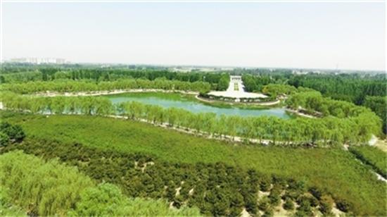 霸州市践行绿色发展打造生态文明