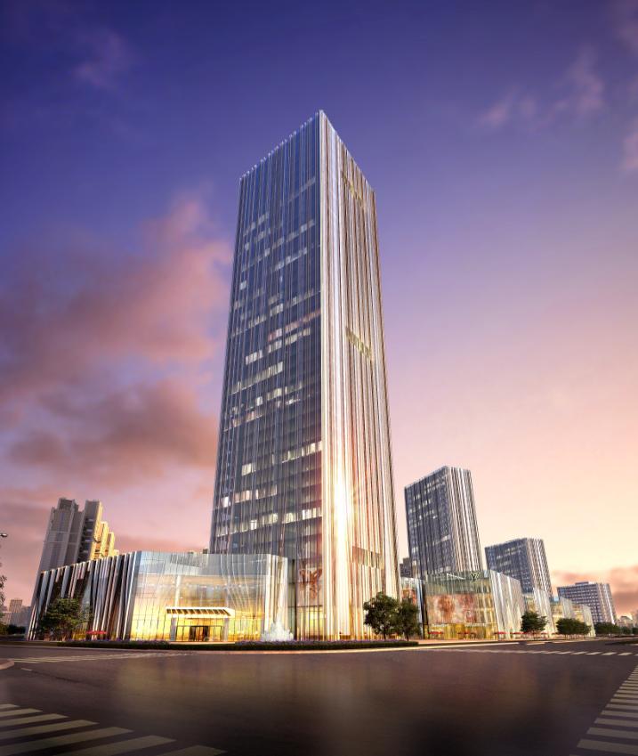 谁能代言西杭州写字楼? 越秀星汇中心 168米塔尖商务地标