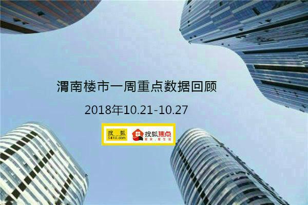 渭南楼市一周重点数据回顾 18.10.21—18.10.27