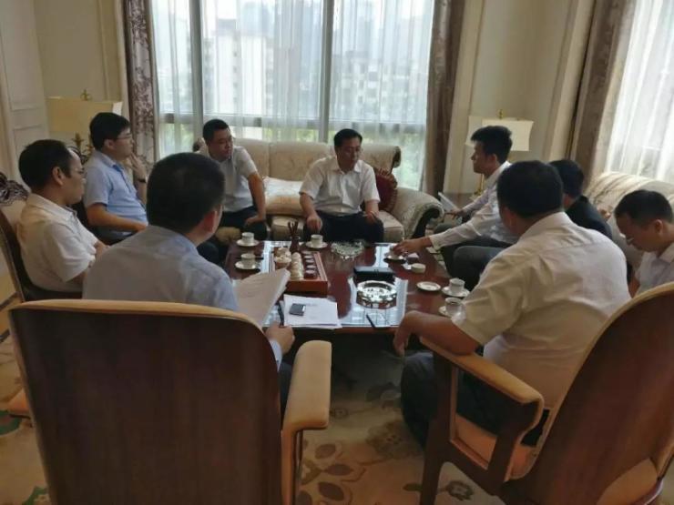 江东新区书记率队考察恒大、亿航、方圆等对接项目合作!
