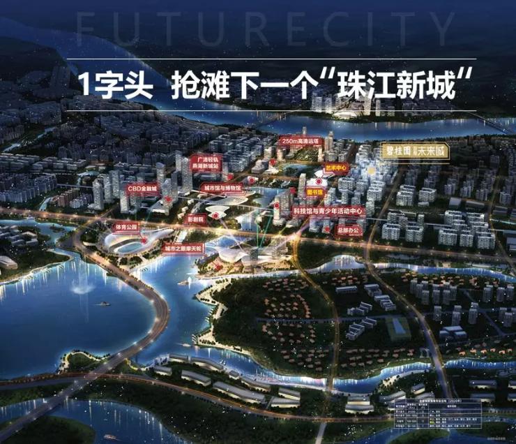 碧桂园智慧未来城:认筹即享三重礼,你还不来?