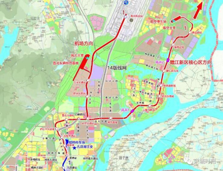 南昌1号线规划或将调整,经开区的小伙伴们不淡定了