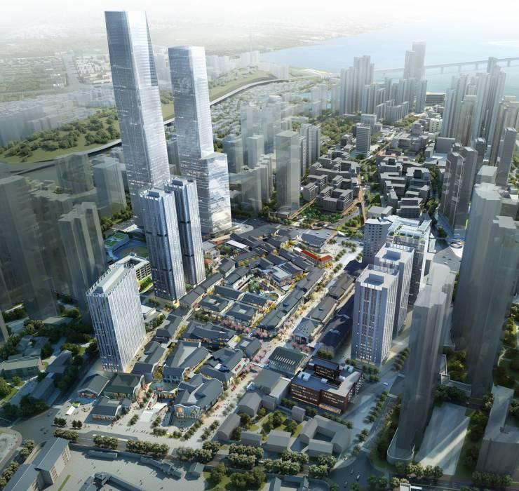 没有城市级项目的名片,汉阳如何能鼎立于三镇