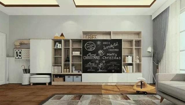 客厅收纳设计也能有高颜值