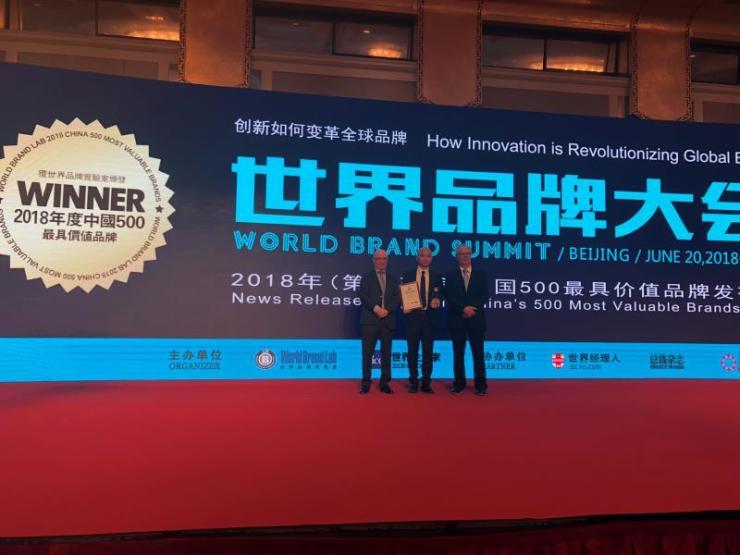 优质厨电品牌名气电器入围中国500最具价值品牌