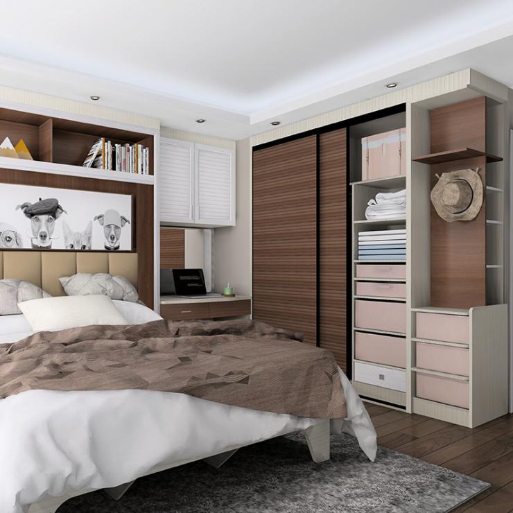 家具量房定做,能把你家这些收纳小空间都用上