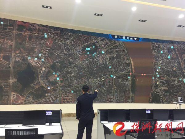 4G图传车、无人机实时监控 1公里内警力及时调度