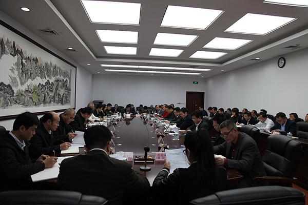 2017广西土地督察约谈会召开,桂平市被约谈