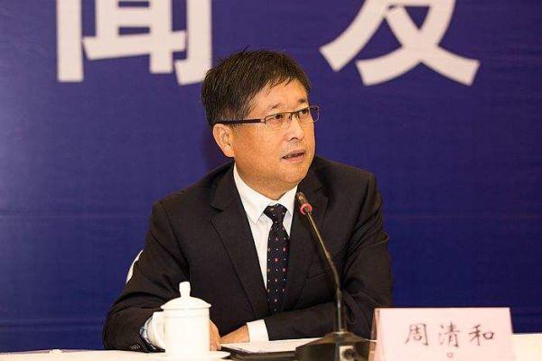 周清和、单晓明代表接受新华社等媒体采访