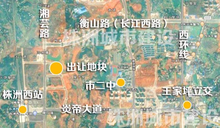 株洲西站周边开发 一线开发商有意拿地 建180米摩天地标
