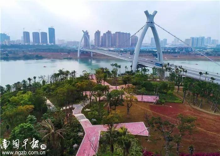 你家江景房要涨价了,南宁打造邕江两岸148公里景观带