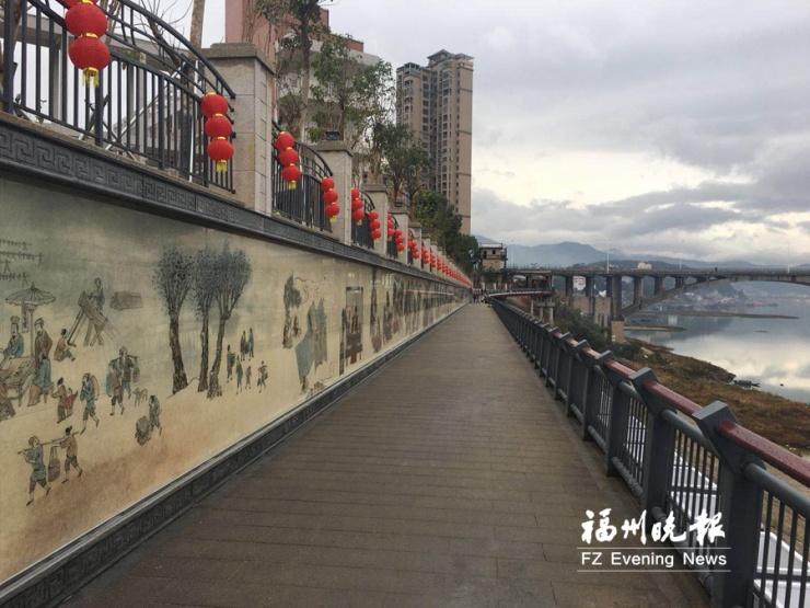 闽清江滨生态公园春节前正式开放