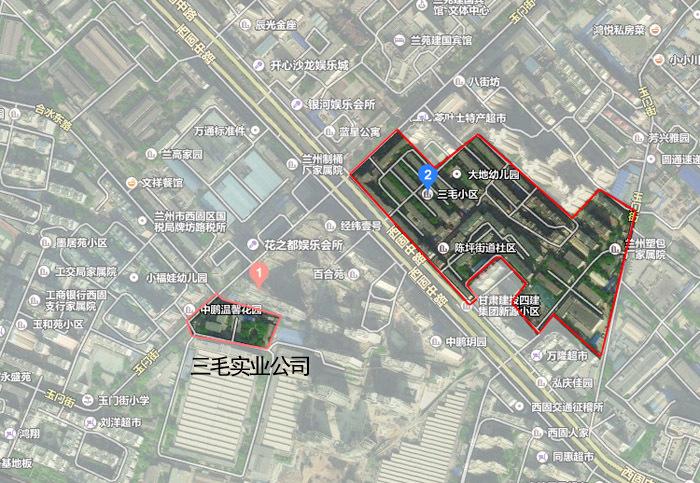 兰州三毛实业厂搬迁 114亩原址将建商品房 使用权公开出让