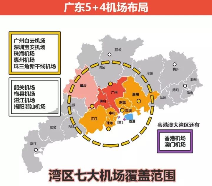 这个规划涉及广东15个城市,广州南沙独占鳌头!
